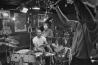 Richard Brick, boom operator, on <em>Different Drummer: Elvin Jones,</em> at the Village Vanguard, New York, New York, 1978. Photo by Ed Gray, director, writer, producer.