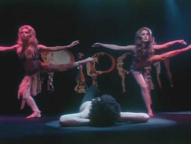 "TV commercial 2 for Bob Fosse's Broadway musical ""Pippin,"" New York, 1975."